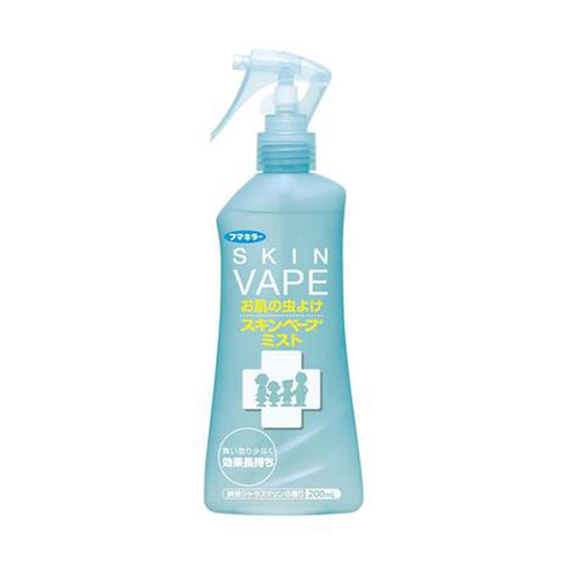 日本Skin_Vape防蚊驱蚊喷雾水液薄荷味200ml