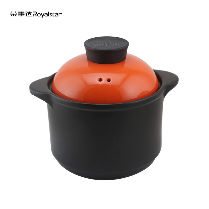 荣事达4.2升陶瓷煲进口锂辉石养生炖汤砂锅